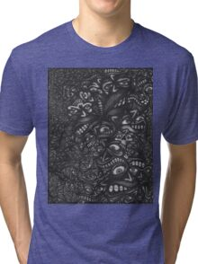Facepage 03 Psychedelic Poster  Tri-blend T-Shirt