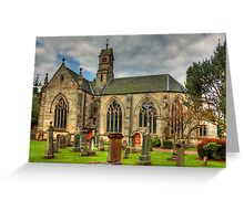 The Kirk of Calder Greeting Card