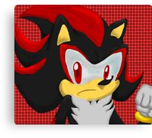 Shadow Hedgehog Canvas Print