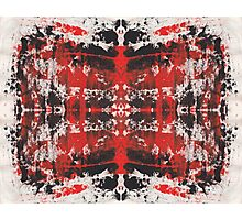 Abstract Repeat Photographic Print