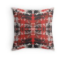 Abstract Repeat Throw Pillow