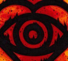 Back to the Future Hearts Sticker