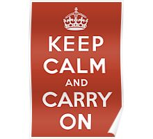 Keep Calm and Carry On Poster