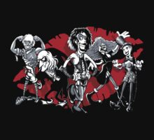 RHPS gang of five by Bleee