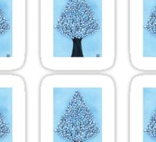 Snow Tree Mini Stickers Sticker