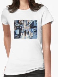 Rainy Day Womens Fitted T-Shirt