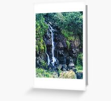 Buckley Falls Overflow Greeting Card