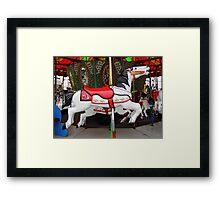 Razorback Carousel  Horse Framed Print