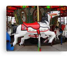 Razorback Carousel  Horse Canvas Print