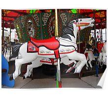 Razorback Carousel  Horse Poster