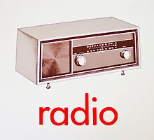 Vintage Radio card by timboss81