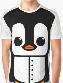 Piibbot - The Penguin Robot Graphic T-Shirt