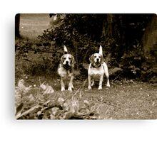 Otis&TIna Canvas Print