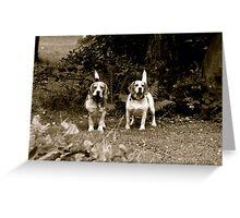 Otis&TIna Greeting Card