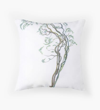 Arched Dancer coloured Throw Pillow