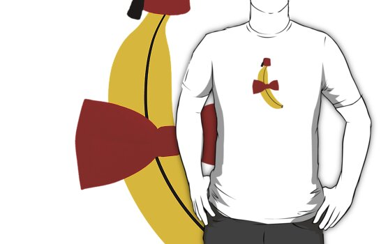 Bananas, Bowties, and fezes. by ofthebaltic