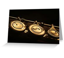 Flute 4 Greeting Card