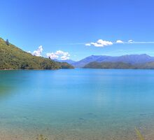 Marlborough Sounds New Zealand by Paul Duckett