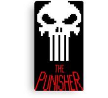 8-bit punisher Canvas Print