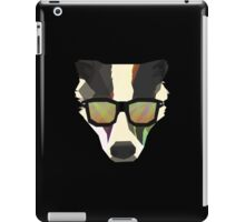 Badgering Around iPad Case/Skin