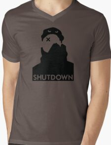 Shutdown / Skepta Mens V-Neck T-Shirt