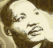 MARTIN LUTHER KING JR-MLK by OTIS PORRITT