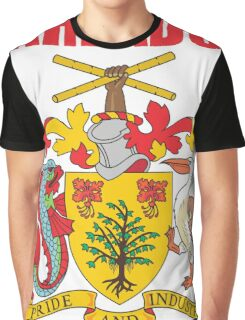BARBADOS COAT OF ARMS Graphic T-Shirt