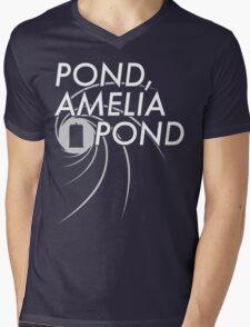 Pond, Ameilia Pond Mens V-Neck T-Shirt