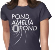 Pond, Ameilia Pond Womens Fitted T-Shirt