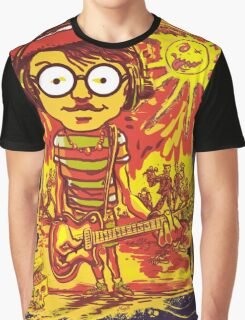Waldo Would Rather Be Undead Than Cool Graphic T-Shirt