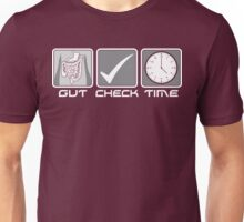 GUT CHECK TIME Unisex T-Shirt