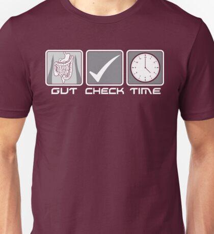 GUT CHECK TIME Unisex T-Shirt