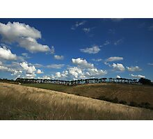 == Lines of Nature == Donny Brook – Country Victoria - Australia Photographic Print