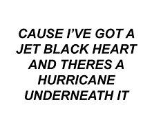 5SOS- JET BLACK HEART  by grandeloml