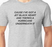 5SOS- JET BLACK HEART  Unisex T-Shirt
