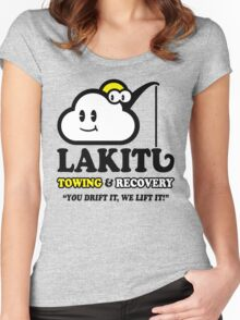 LAKITU TOWING Women's Fitted Scoop T-Shirt