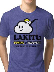 LAKITU TOWING Tri-blend T-Shirt
