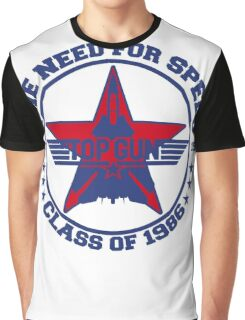 Top Gun Class of 86 - Need For Speed Graphic T-Shirt