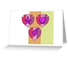 My little Pony - Crusaders Cutie Marks Special Greeting Card