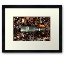 Old Bottle Framed Print