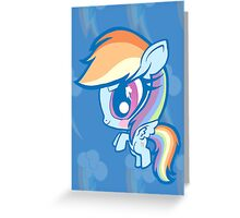 Weeny My Little Pony- Rainbow Dash Greeting Card