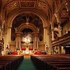 Historic St. Mary's RC Church by John Schneider