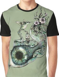 Flowing Creativity Graphic T-Shirt