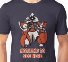 Nothing to see here. Unisex T-Shirt