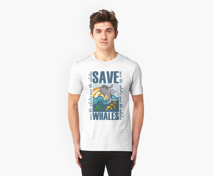 SAVE WHALES by Photo Rangers