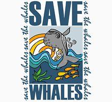 SAVE WHALES Unisex T-Shirt