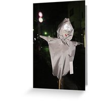 Hey! You Crazy Cat! Greeting Card