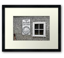 Town Of Chilmark Framed Print