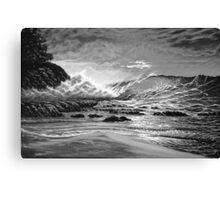 ROMANCING SURF Canvas Print