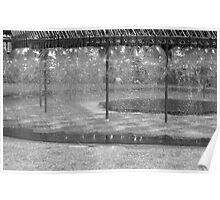 Artificial rain Poster